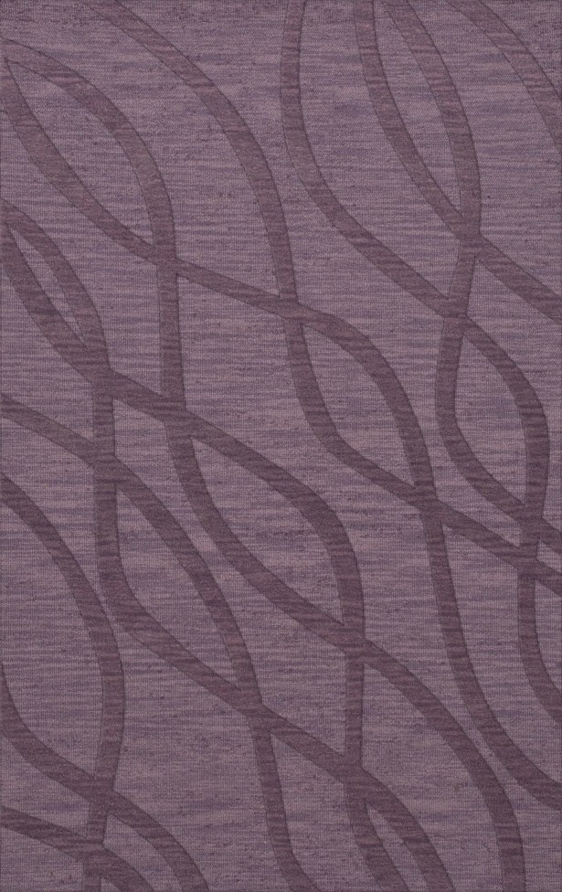 Dover Tufted Wool Viola Area Rug Rug Size: Rectangle 10' x 14'