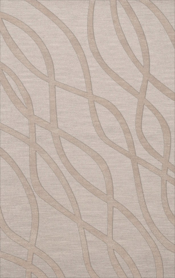 Dover Tufted Wool Putty Area Rug Rug Size: Rectangle 4' x 6'
