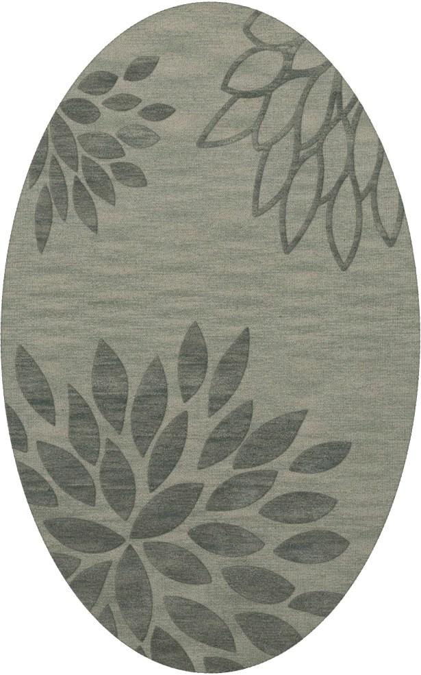 Bao Spa Area Rug Rug Size: Oval 6' x 9'