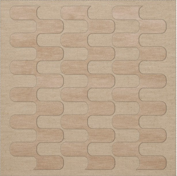 Dover Linen Area Rug Rug Size: Square 12'