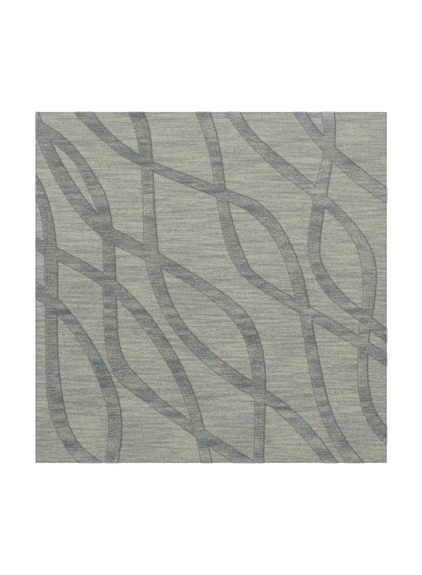 Dover Tufted Wool Sea Glass Area Rug Rug Size: Square 6'