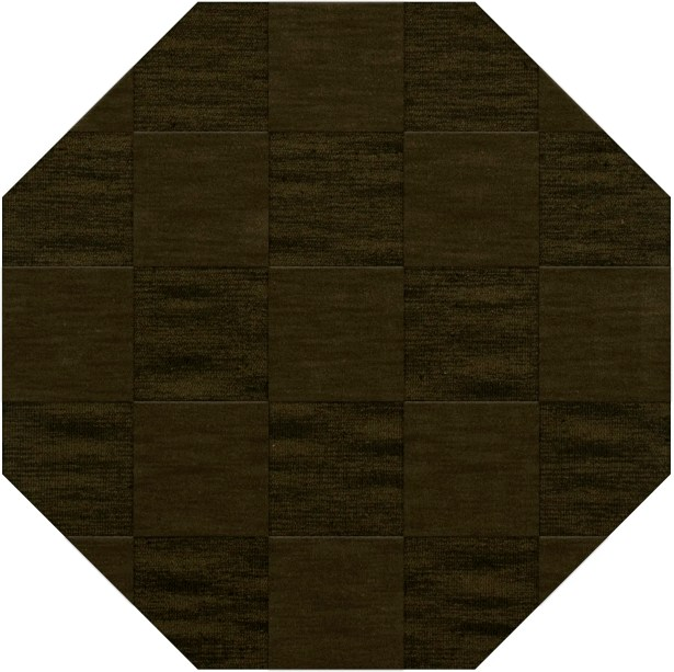Dover Tufted Wool Olive Area Rug Rug Size: Octagon 6'