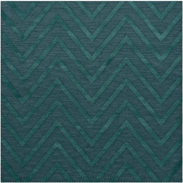 Dover Tufted Wool Teal Area Rug Rug Size: Square 6'