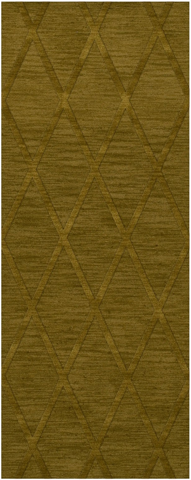 Dover Tufted Wool Avocado Area Rug Rug Size: Runner 2'6