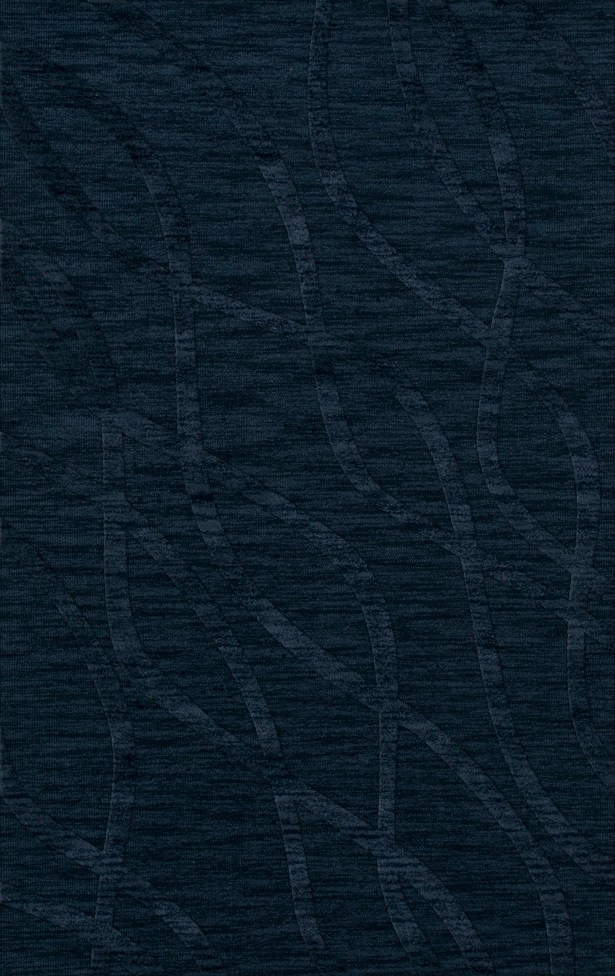 Dover Navy Area Rug Rug Size: Rectangle 9' x 12'