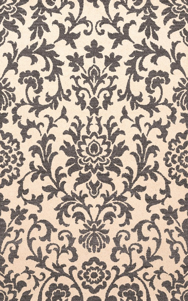 Bella Machine Woven Wool Beige/Gray Area Rug Rug Size: Square 10'