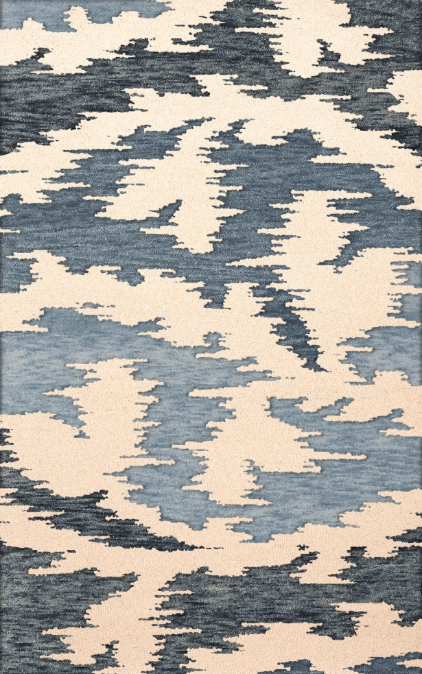Bella Machine Woven Wool Black Area Rug Rug Size: Oval 12' x 15'