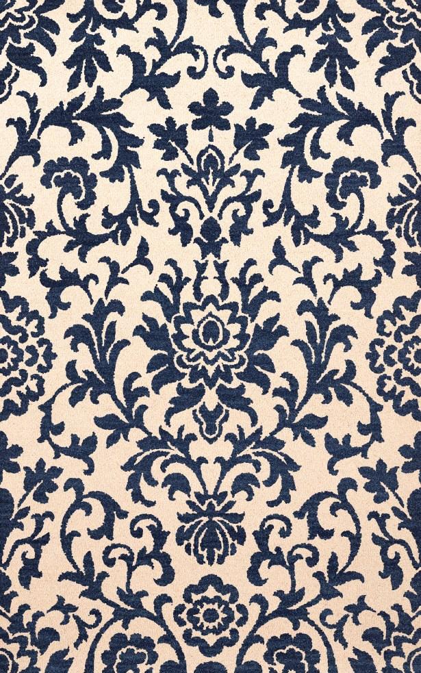 Bella Machine Woven Wool Beige/Blue Area Rug Rug Size: Runner 2'6