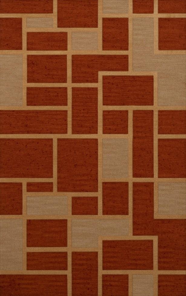 Hallenbeck Wool Wheat Area Rug Rug Size: Rectangle 8' x 10'