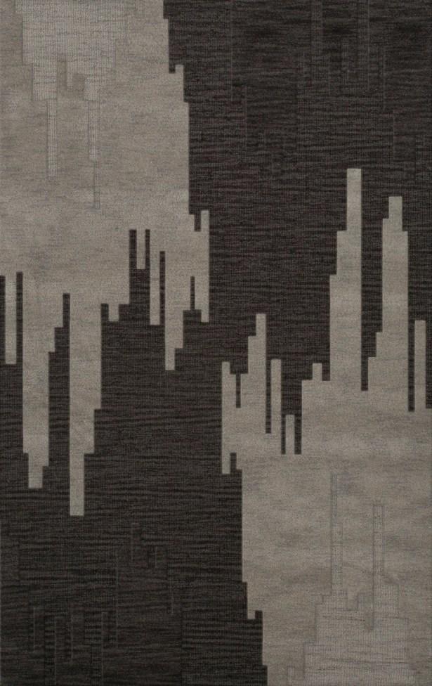 Hasse Wool Chinchilla Area Rug Rug Size: Rectangle 8' x 10'