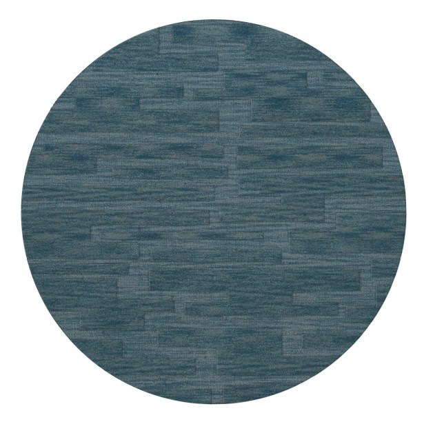 Dover Sky Area Rug Rug Size: Round 10'