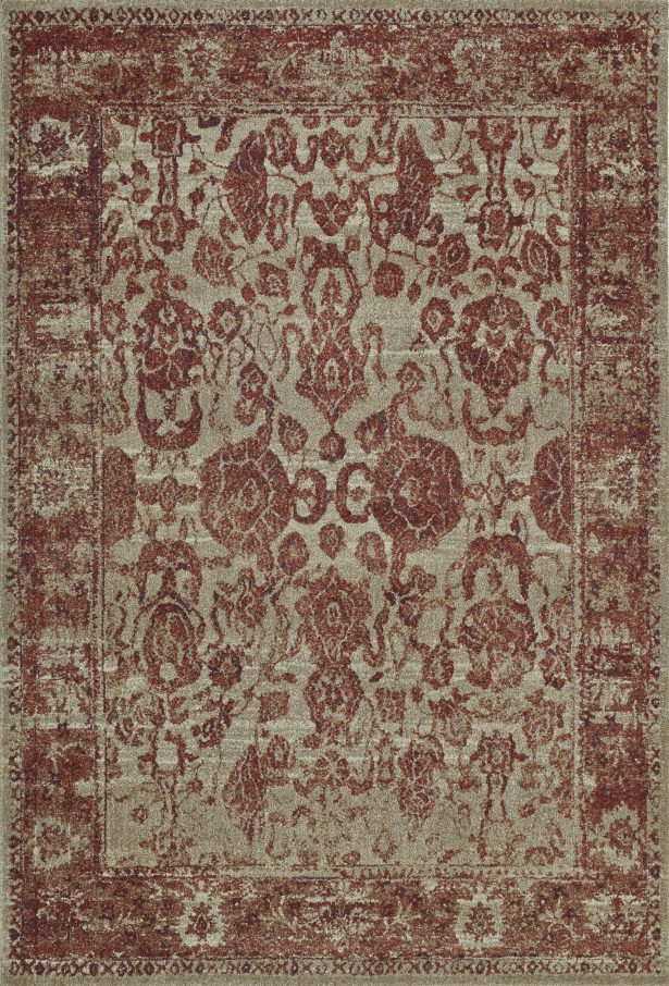 Palma Paprika Area Rug Rug Size: Rectangle 9'6