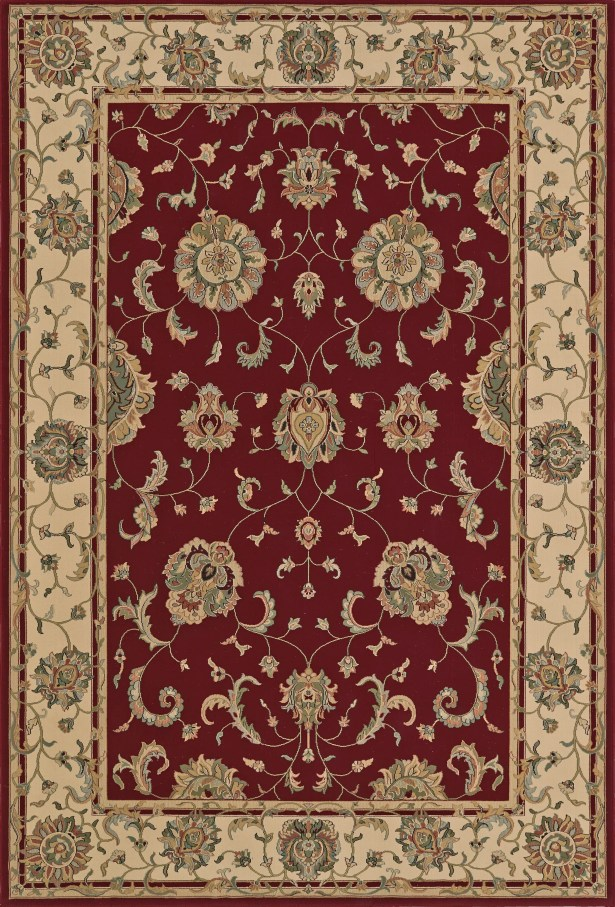 Malta Dalyn Red Area Rug Rug Size: Rectangle 9'6