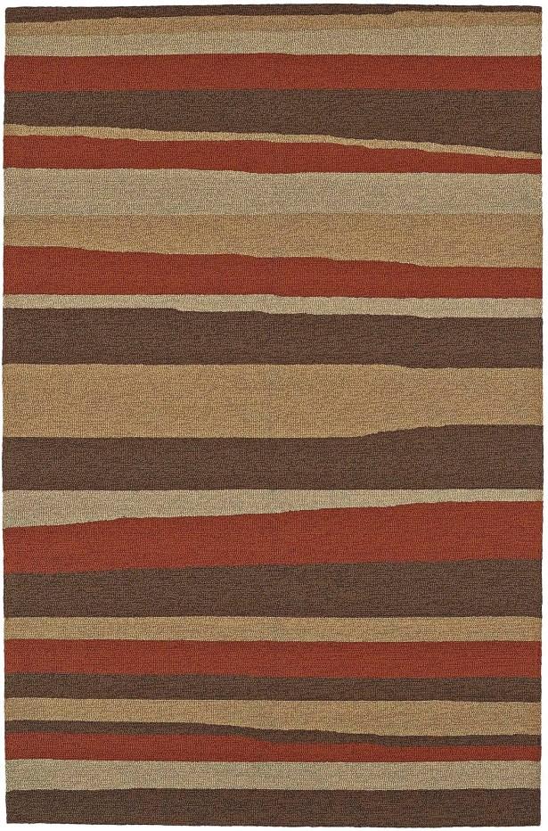 Lovitz Hand-Tufted Canyon Indoor/Outdoor Area Rug Rug Size: Rectangle 8' x 10'