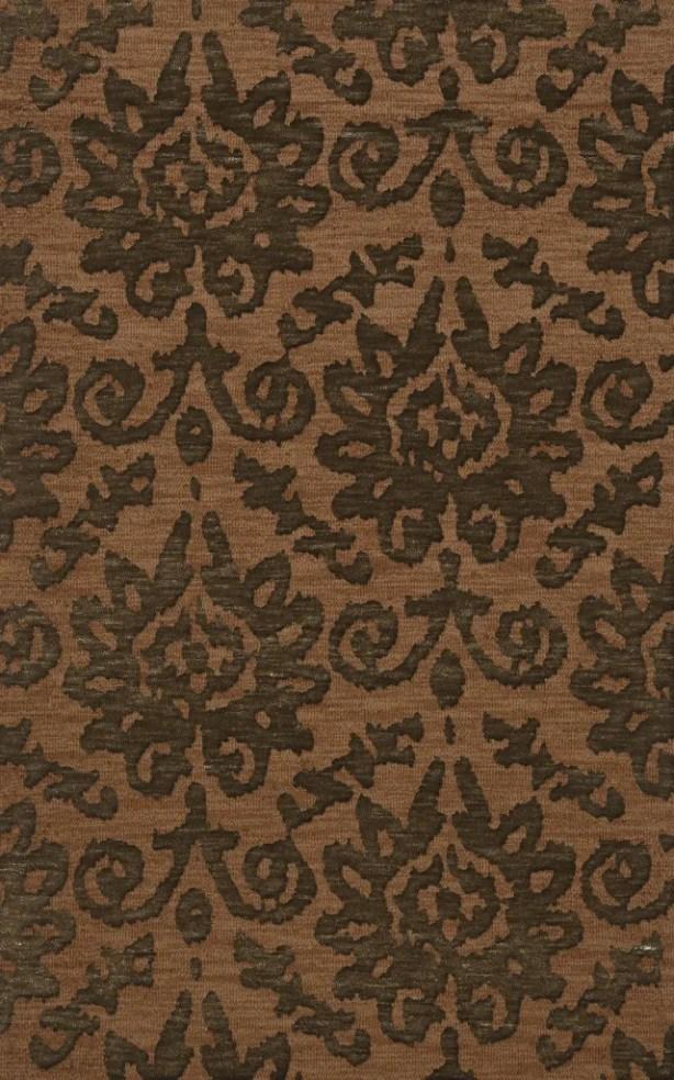 Bella Machine Woven Wool Brown Area Rug Rug Size: Rectangle 12' x 18'
