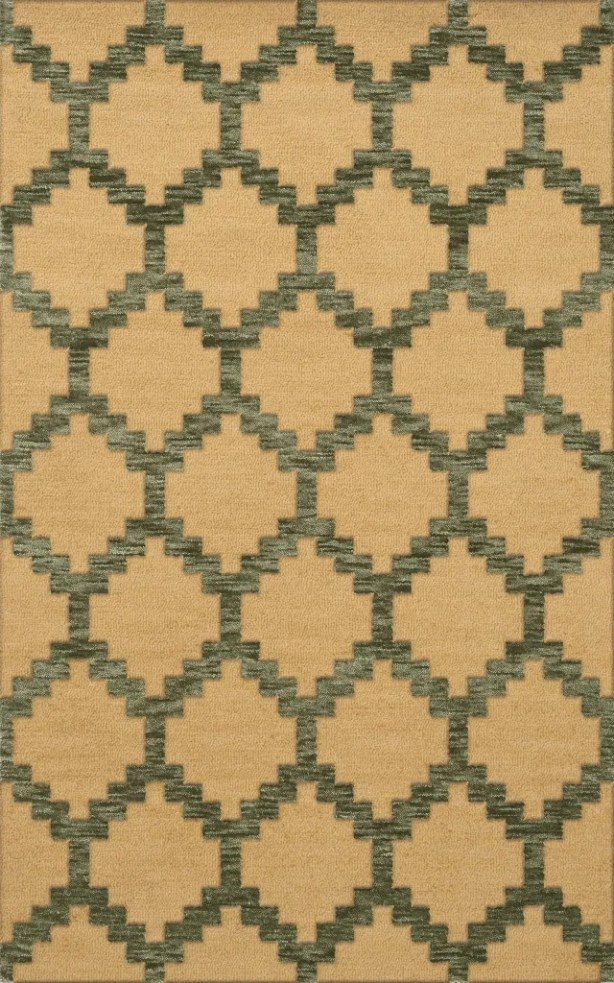 Bella Beige Area Rug Rug Size: Rectangle 4' x 6'