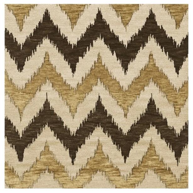 Bella Machine Woven Wool Brown Area Rug Rug Size: Rectangle 4' x 6'