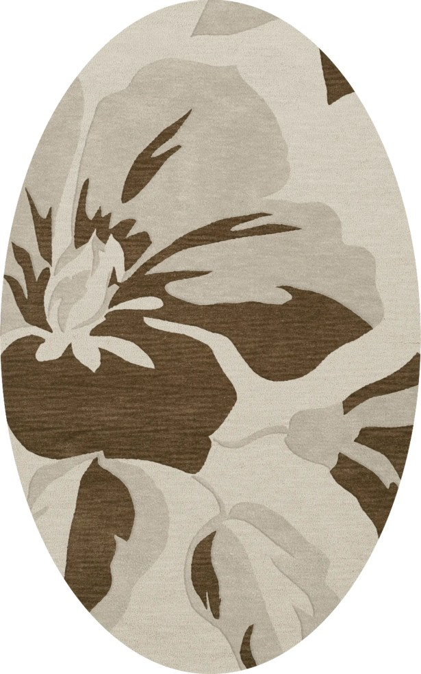 Bella Gray Area Rug Rug Size: Oval 10' x 14'