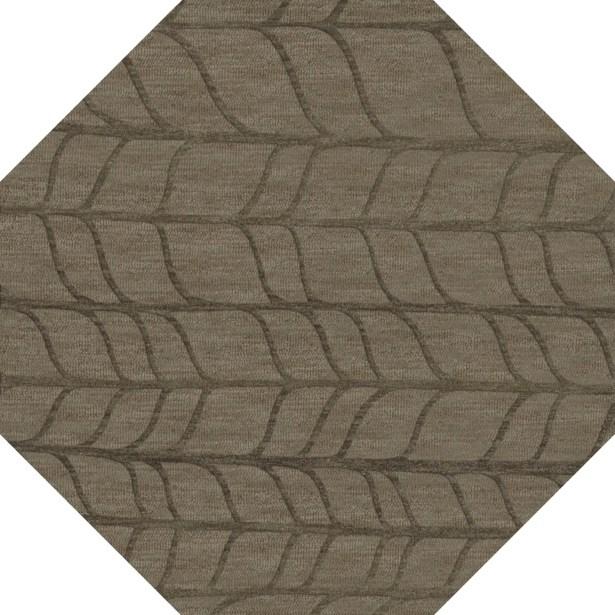 Bella Gray Area Rug Rug Size: Octagon 6'
