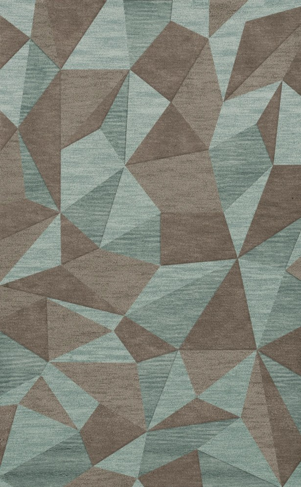 Bella Gray/Brown Area Rug Rug Size: Rectangle 12' x 18'