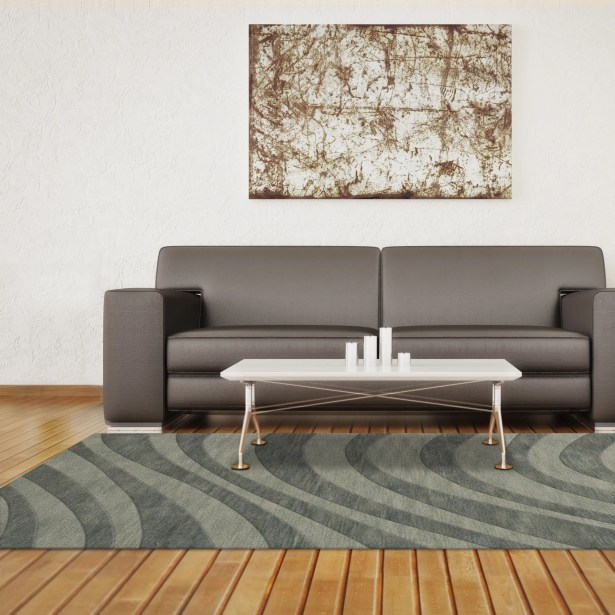 Dover Tufted Wool Spa Area Rug Rug Size: Octagon 10'