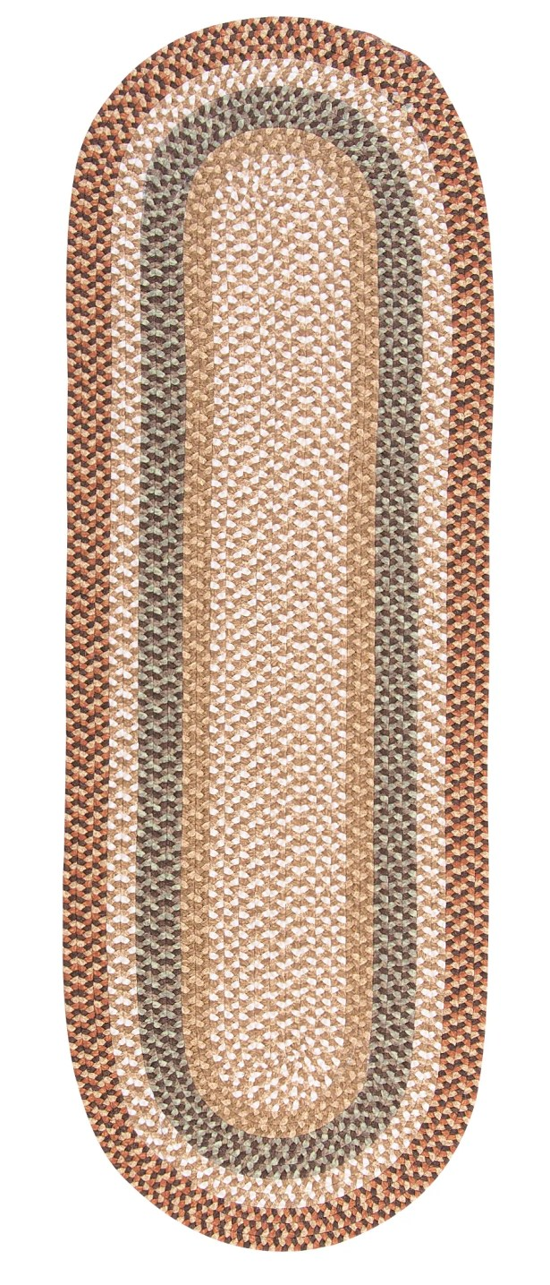 Fabric Multi Natural Area Rug Rug Size: Runner 2' x 6'
