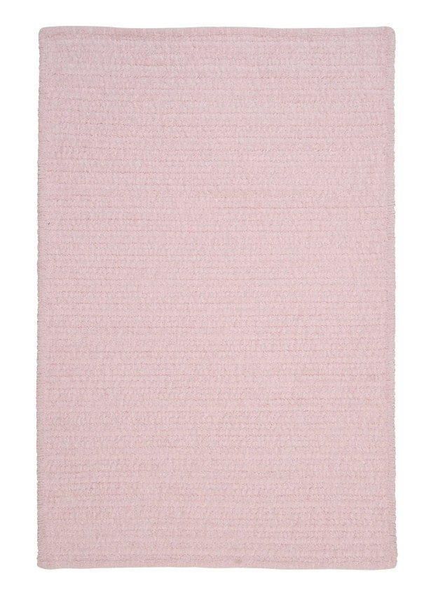 Solid Chenille Pink Area Rug Rug Size: Runner 2' x 8'