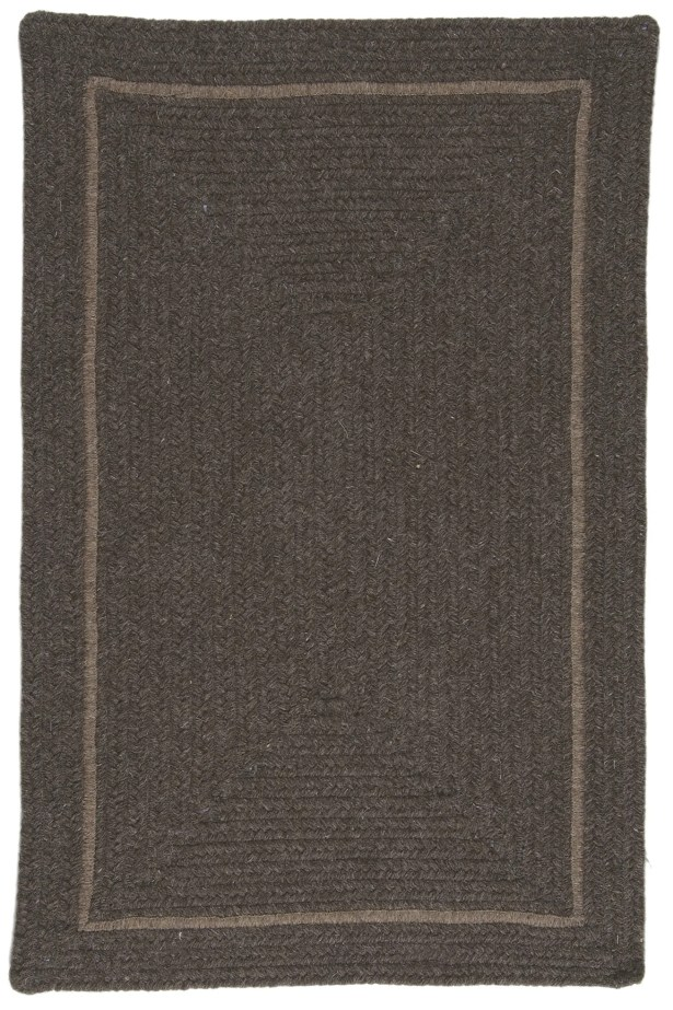 Shear Natural Rural Earth Area Rug Rug Size: Rectangle 3' x 5'