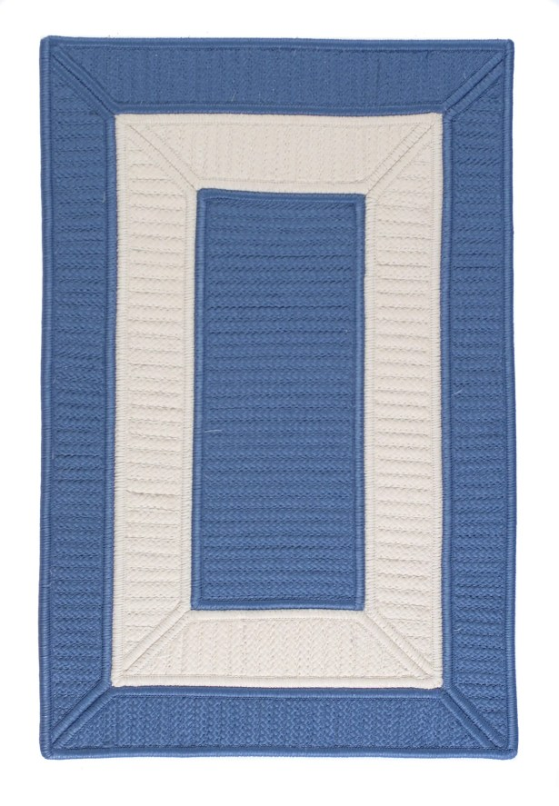 Collection 14 Blue Area Rug Rug Size: Rectangle 7' x 9'