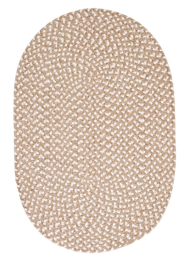 Boice Natural Area Rug Rug Size: Oval Runner 2' x 10'