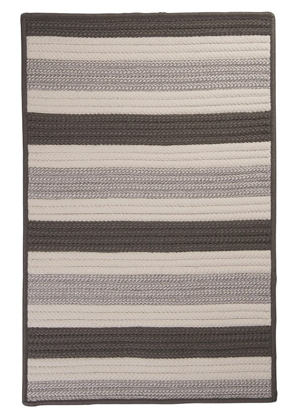 Georg Silver Indoor/Outdoor Area Rug Rug Size: Rectangle 4' x 6'