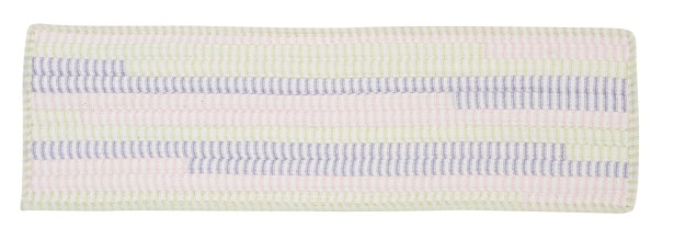 Ticking Stripe Rect Dreamland Stair Tread Quantity: Set of 13