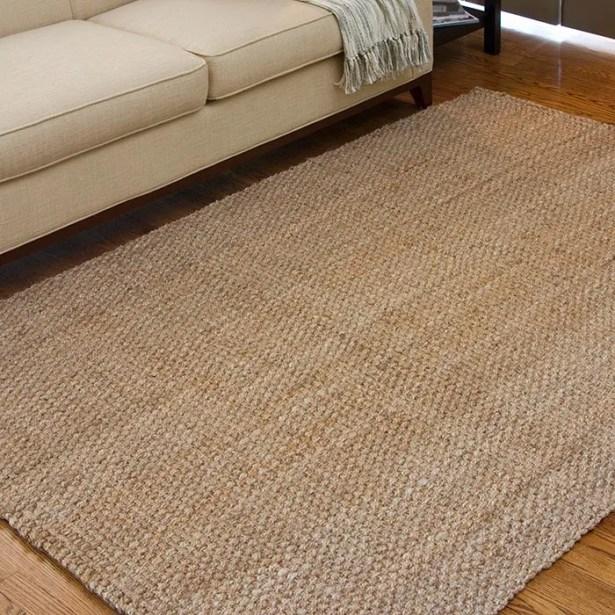 Jayleen Hand-Woven Brown Area Rug Rug Size: Rectangle 3'6