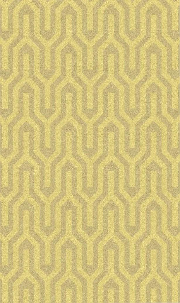 Burchfield Gold Geometric Rug Rug Size: Rectangle 8' x 11'