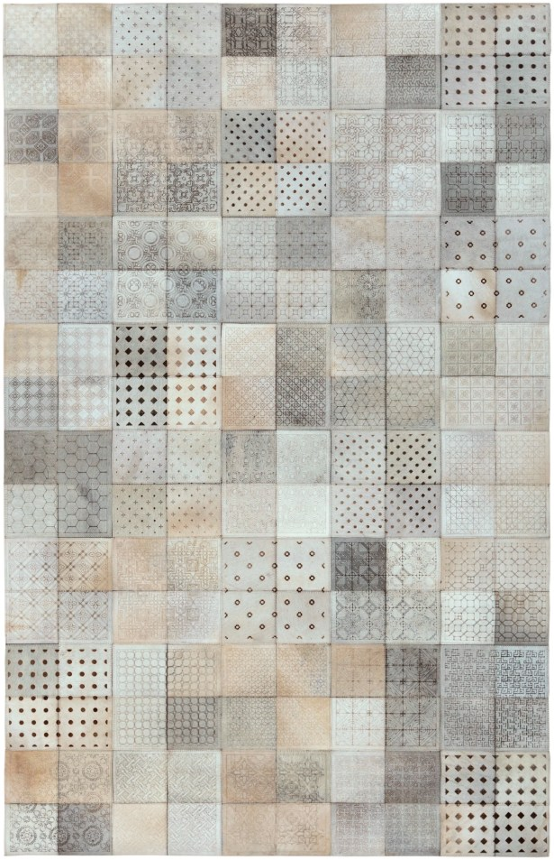 El Centro Light Gray Area Rug Rug Size: Rectangle 4' x 6'