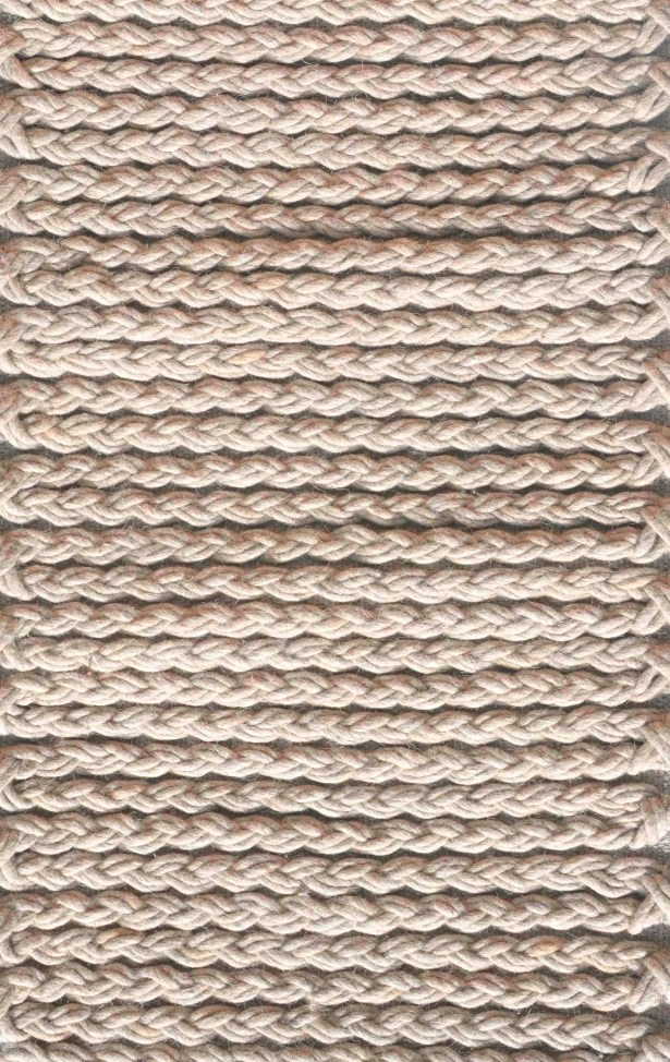 Stanford Hand Woven Wool Light Gray Area Rug Rug Size: Rectangle 5' x 7'6
