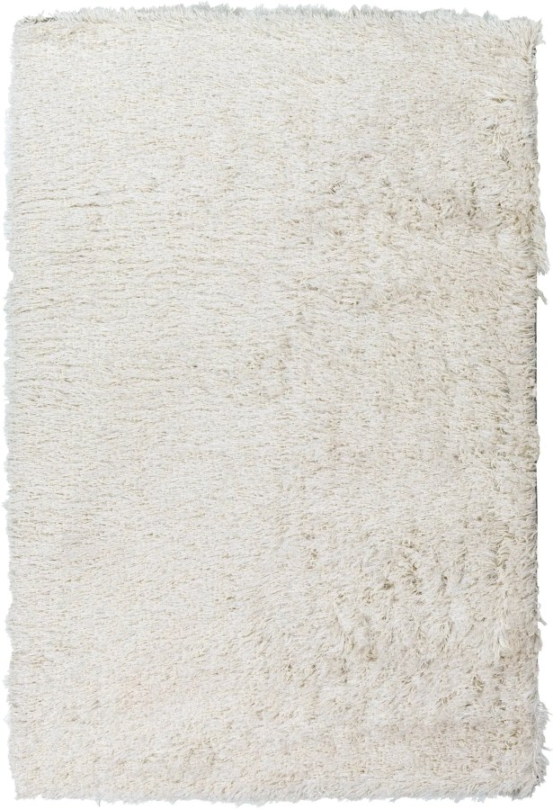 Mahesh White/Silver Area Rug Rug Size: Rectangle 8' x 10'