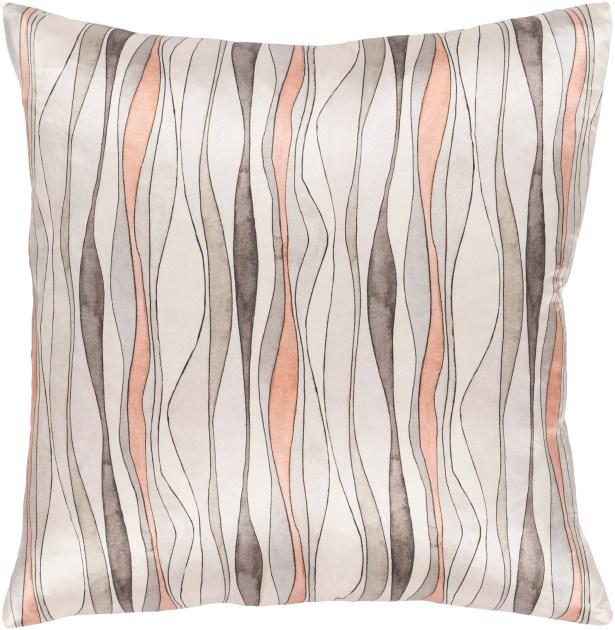 Natural Affinity Modern Silk Throw Pillow Size: 20