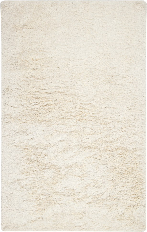 Halpern Hand Woven Wool White Area Rug Rug Size: Rectangle 2' x 3'