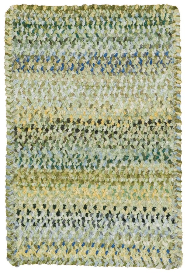 Wilhelmine Pale Green Area Rug Rug Size: Cross Sewn 4' x 6'