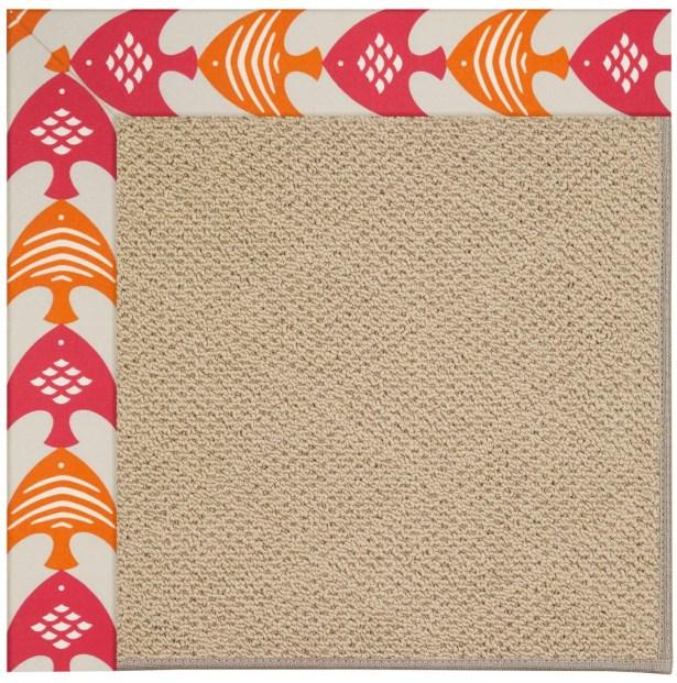 Lisle Machine Tufted Autumn Indoor/Outdoor Area Rug Rug Size: Square 4'