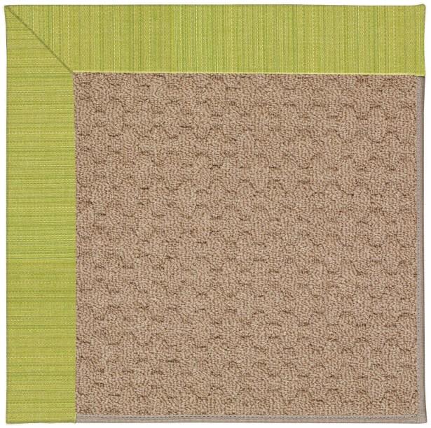 Lisle Machine Tufted Pea Pod/Brown Indoor/Outdoor Area Rug Rug Size: Rectangle 9' x 12'