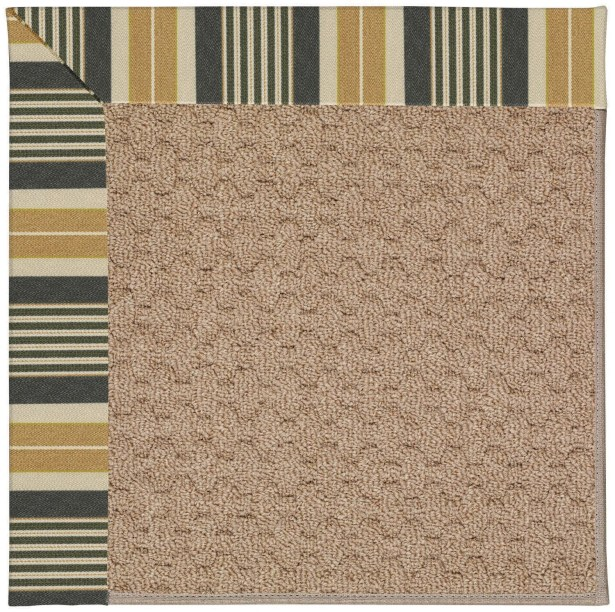 Lisle Machine Tufted Indoor/Outdoor Area Rug Rug Size: Square 8'