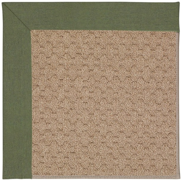 Lisle Machine Tufted Plant Green/Brown Indoor/Outdoor Area Rug Rug Size: Rectangle 5' x 8'