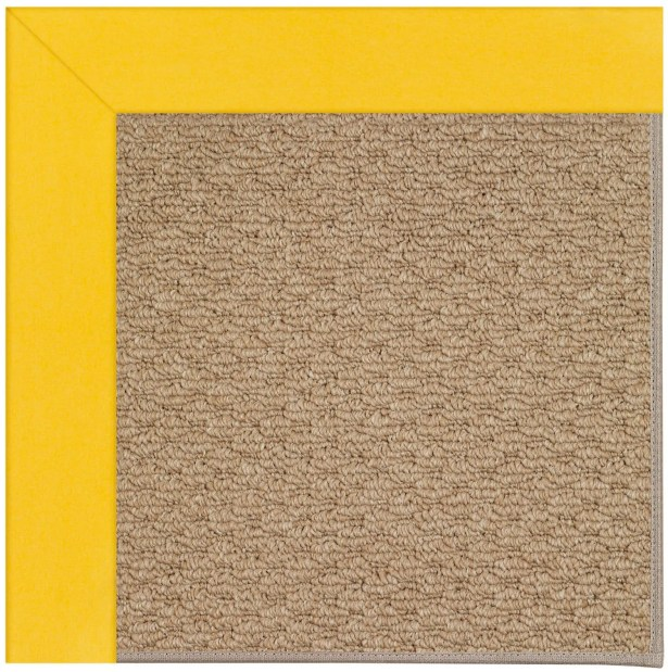 Lisle Machine Tufted Summertime Yellow/Brown Indoor/Outdoor Area Rug Rug Size: Rectangle 10' x 14'