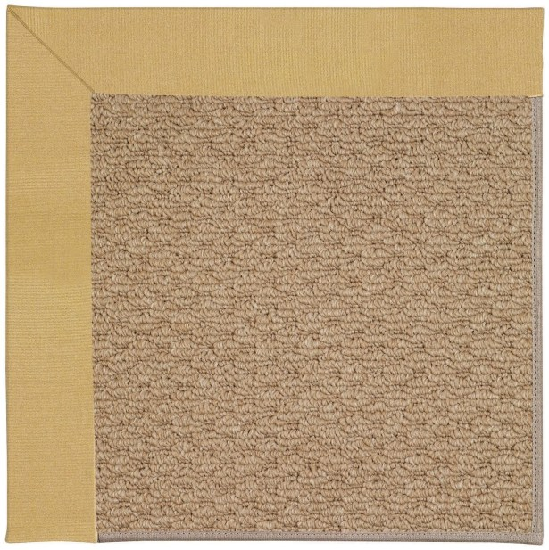 Lisle Machine Tufted Wheatfield/Brown Indoor/Outdoor Area Rug Rug Size: Square 4'