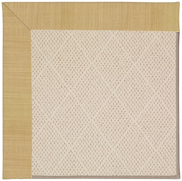 Lisle Light Brown Indoor/Outdoor Area Rug Rug Size: Square 10'