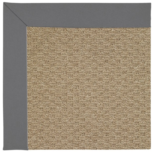 Lisle Machine Tufted Ash/Brown Indoor/Outdoor Area Rug Rug Size: Rectangle 8' x 10'
