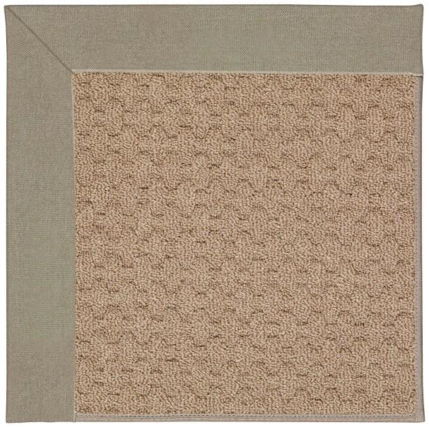 Lisle Machine Tufted Buff/Brown Indoor/Outdoor Area Rug Rug Size: Rectangle 3' x 5'