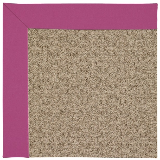 Lisle Machine Tufted Fuchsia Area Rug Rug Size: Rectangle 3' x 5'